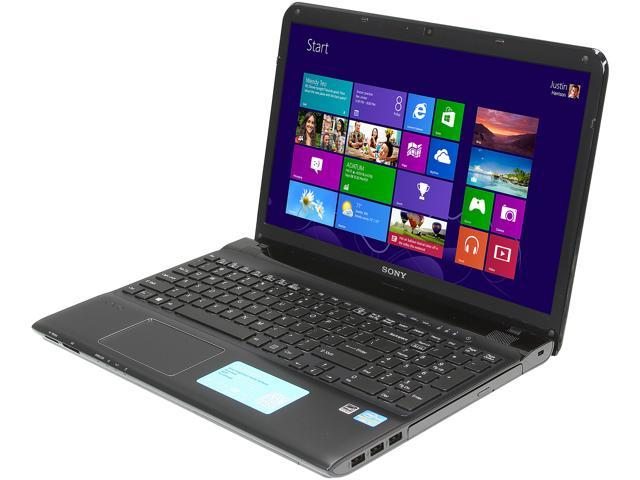 SONY Laptop VAIO E Series SVE1513RCXB Intel Core i5 3230M (2.60 GHz) 4 GB Memory 500 GB HDD AMD Radeon HD 7650M 15.5