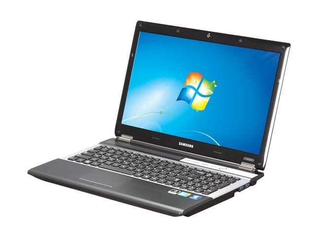 "SAMSUNG Laptop RF510-S02 Intel Core i7 720QM (1.60 GHz) 4 GB Memory 640GB HDD NVIDIA GeForce GT 330M 15.6"" Windows 7 Home ..."