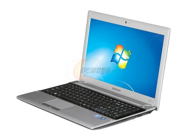 "SAMSUNG Laptop NP-RV511-A01(RB) Intel Core i3 380M (2.53 GHz) 4 GB Memory 500 GB HDD Intel HD Graphics 15.6"" Windows 7 Home ..."