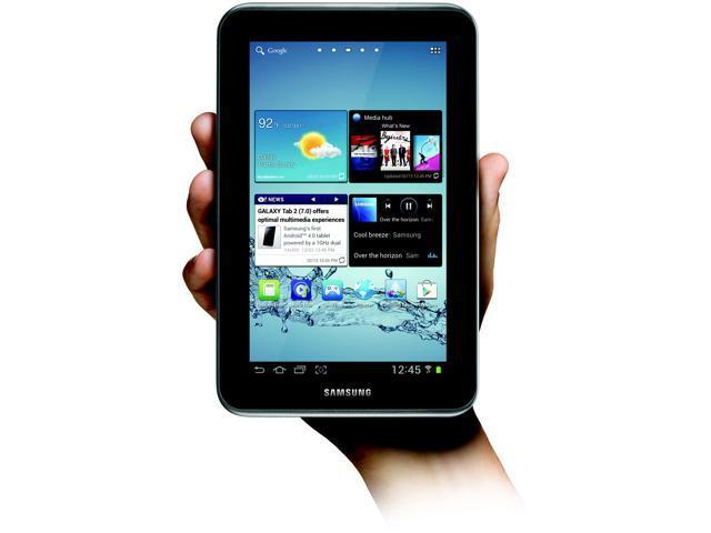 "SAMSUNG Galaxy Tab 2 (7.0) WiFi 8 GB 7.0"" Tablet PC - Titanium Silver"