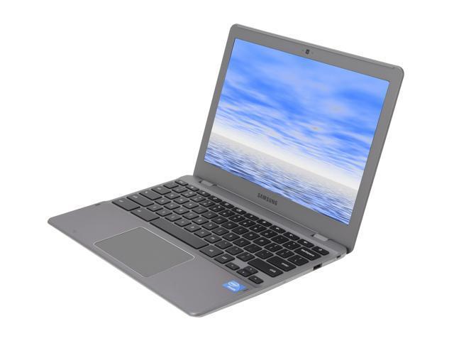"SAMSUNG Chromebook Series 5 XE550C22-H01US Intel Celeron 867 (1.7 GHz) 4 GB Memory 16 GB SSD Intel HD Graphics 12.1"" Chrome ..."