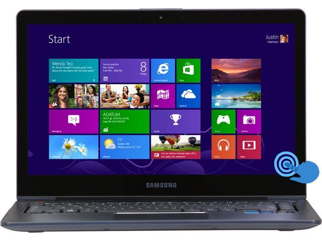"SAMSUNG ATIV Book 5 NP540U4E-K04US Intel Core i3 4 GB Memory 500GB + 24GB ExpressCache HDD 14"" Touchscreen Ultrabook Windows ..."