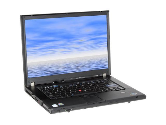 ThinkPad Laptop T Series T60(637174U) Intel Core 2 Duo T5500 (1.66 GHz) 512 MB Memory 80 GB HDD Intel GMA950 15.4