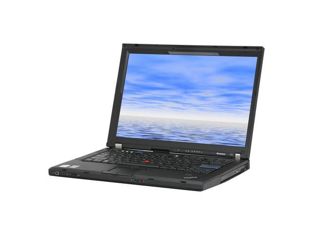 "ThinkPad Laptop T Series T61 (646066U) Intel Core 2 Duo T7300 (2.00 GHz) 1 GB Memory 160 GB HDD NVIDIA NVS 140M 15.4"" Windows ..."