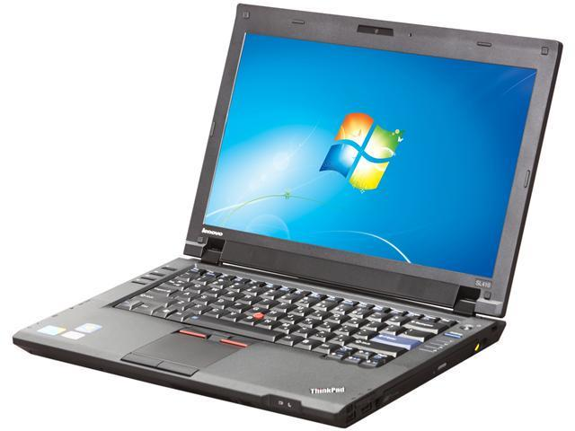 ThinkPad Laptop SL Series SL410 (2842K4U) Intel Core 2 Duo T6600 (2.20 GHz) 3 GB Memory 500 GB HDD Intel GMA 4500MHD 14.0