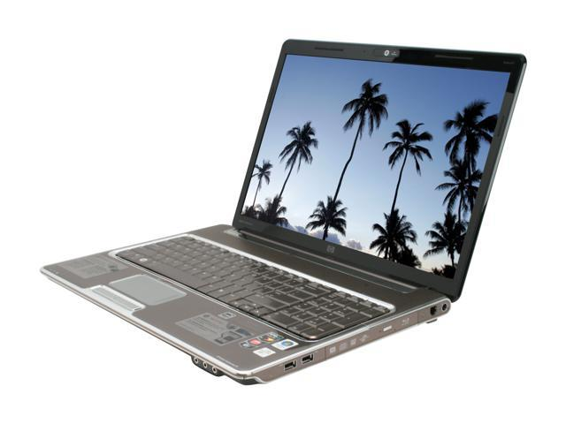 "HP Laptop Pavilion dv7-1260us AMD Turion X2 RM-74 (2.20 GHz) 4 GB Memory 400 GB HDD ATI Radeon HD 3200 17.0"" Windows Vista ..."