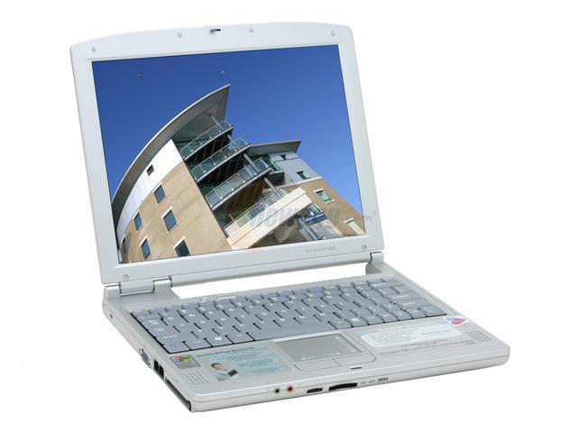 AVERATEC Laptop AV3360 Intel Pentium M 725 (1.60 GHz) 512 MB Memory 60 GB HDD Intel Extreme Graphics 2 12.1