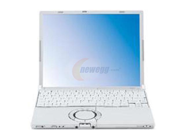 "Panasonic Laptop Toughbook CF-W5LWEZZBM Intel Core Solo U1400 (1.20 GHz) 512 MB Memory 60 GB HDD Intel GMA950 12.1"" Windows ..."