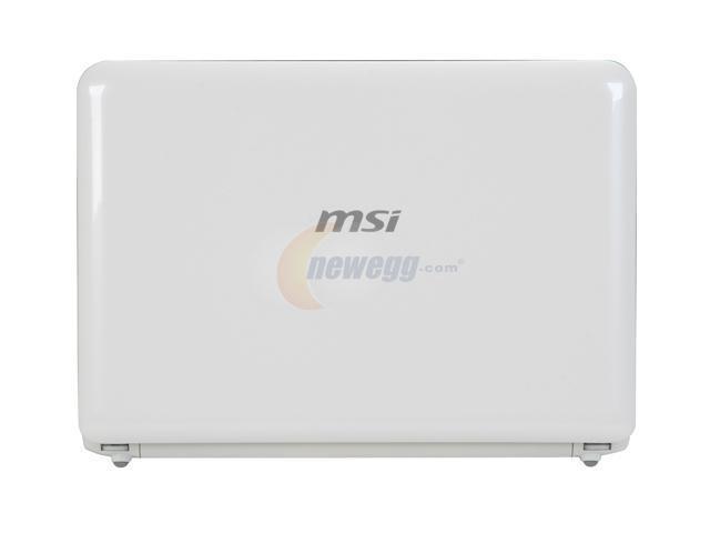 MSI Wind U100-451US White Intel Atom N270(1.60 GHz) 10.0