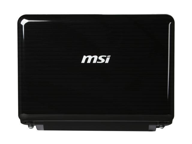 "MSI Wind U135-205US Black 10.0"" WSVGA Netbook"