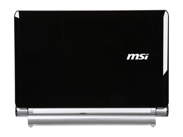 MSI Wind U160-006US Black Intel Atom N450(1.66 GHz) 10.0