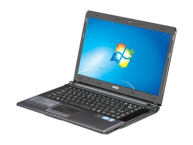 "MSI Laptop X460DX-008US Intel Core i3 2310M (2.10 GHz) 4 GB Memory 500 GB HDD NVIDIA GeForce GT 540M 14.0"" Windows 7 Home ..."