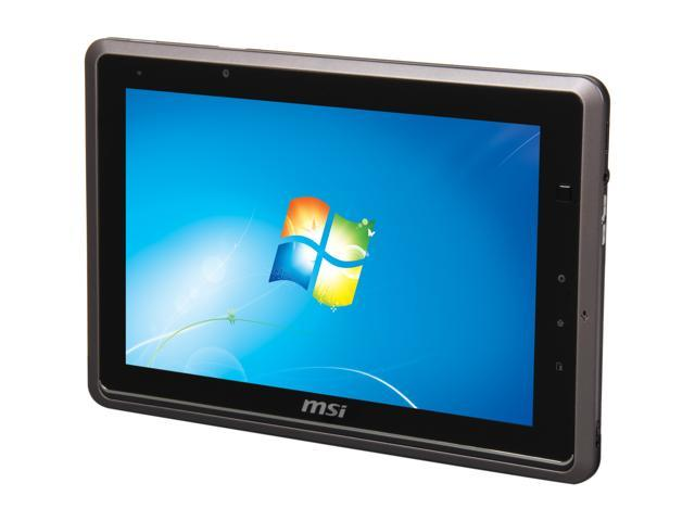 """MSI WindPad 110W-014US 32GB mSATA SSD 10.0"""" Tablet - Metallic Grey"""