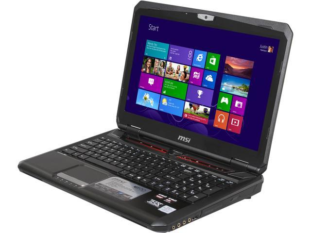 MSI GX Series GX60 3AE-216US Gaming Laptop AMD A-Series A10-5750M (2.50 GHz) 8 GB Memory 750 GB HDD AMD Radeon HD 7970M 2GB GDDR5 15.6