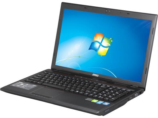 "MSI GP Series GP60 2OD-052US Gaming Laptop Intel Core i5-4200M 2.5GHz 15.6"" Windows 7 Home Premium"