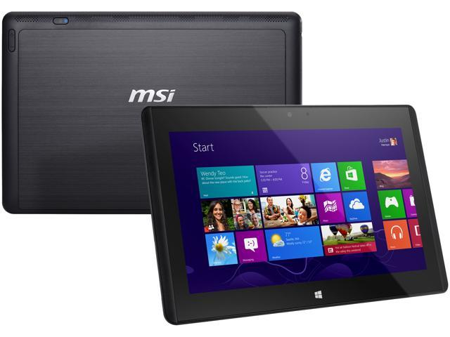 "MSI W20 3M-002US AMD A-Series 2 GB Memory 128GB SSD 11.6"" Touchscreen Tablet Windows 8"