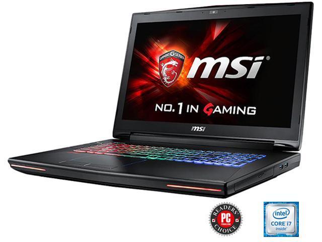 MSI GT Series GT72 Dominator Pro G-034 Gaming Laptop 6th Generation Intel Core i7 6700HQ (2.60 GHz) 24 GB Memory 1 TB HDD 256 GB SSD NVIDIA GeForce GTX 980M 4 GB GDDR5 17.3