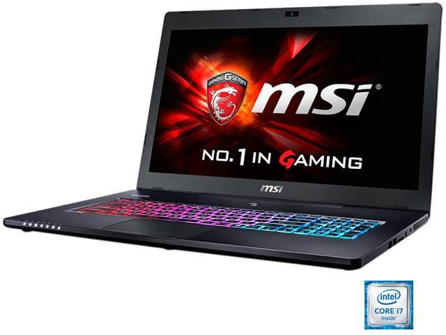MSI GS Series GS70 Stealth Pro-006 Gaming Laptop 6th Generation Intel Core i7 6700HQ (2.60 GHz) 16 GB Memory 1 TB HDD 128 GB SSD NVIDIA GeForce GTX 970M 3 GB GDDR5 17.3