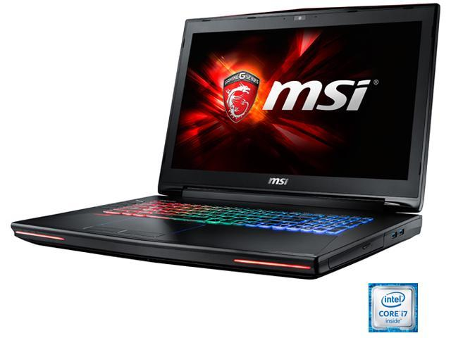 MSI GT Series GT72 Dominator Pro G-1252 Gaming Laptop Intel Core i7 6700HQ (2.60 GHz) 16 GB Memory 1 TB HDD 512 GB SSD NVIDIA GeForce GTX 980M 4 GB GDDR5 17.3