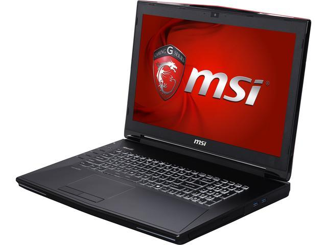 MSI GT Series GT72 Dominator Pro G-034 Gaming Laptop Intel Core i7 6700HQ (2.60 GHz) 24 GB Memory 1 TB HDD 256 GB SSD NVIDIA GeForce GTX 980M 4 GB GDDR5 17.3
