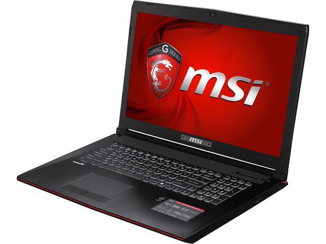 MSI GE Series GE72-2QD-405US Gaming Laptop Intel Core i7 5700HQ (2.70 GHz) 12 GB Memory 1 TB HDD NVIDIA GeForce GTX 960M 2 GB GDDR5 17.3