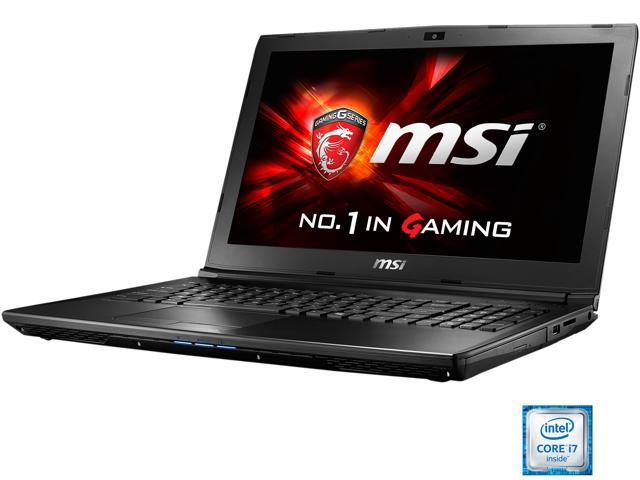 MSI GL62 6QF-1225 Gaming Laptop Intel Core i7 6700HQ (2.60 GHz) 16 GB Memory 1 TB HDD 128 GB SSD NVIDIA GeForce GTX 960M 2 GB GDDR5 15.6