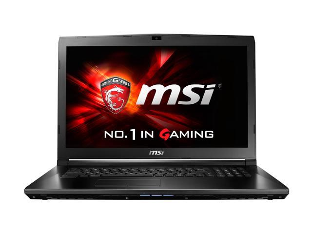 "MSI GL72 7QF-1057 17.3"" FHD Intel Quad Core i7 Gaming Laptop"