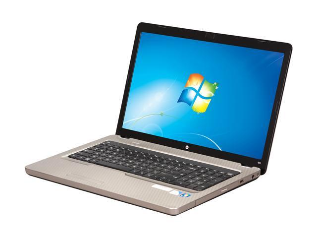 "HP Laptop G72-227WM Intel Pentium dual-core T4500 (2.30 GHz) 3 GB Memory 320 GB HDD Intel GMA 4500M 17.3"" Windows 7 Home ..."