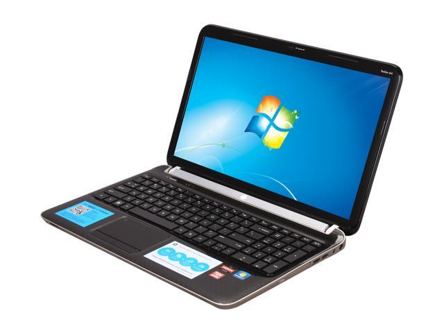HP Laptop Pavilion dv6-6110us AMD A6-Series A6-3400M (1.4 GHz) 4 GB Memory 640GB HDD AMD Radeon HD 6520G 15.6