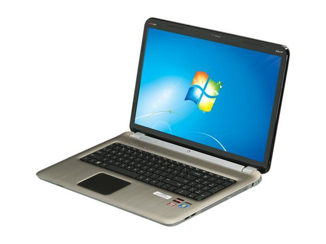 HP Laptop Pavilion DV7-6168NR AMD A6-Series A6-3400M (1.4 GHz) 6 GB Memory 640GB HDD 17.3