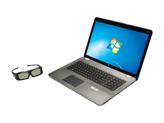 "HP Laptop ENVY 17 17-2090NR Intel Core i7 2630QM (2.00 GHz) 8 GB Memory 1.5 TB HDD AMD Radeon HD 6850M 17.3"" Windows 7 Home ..."