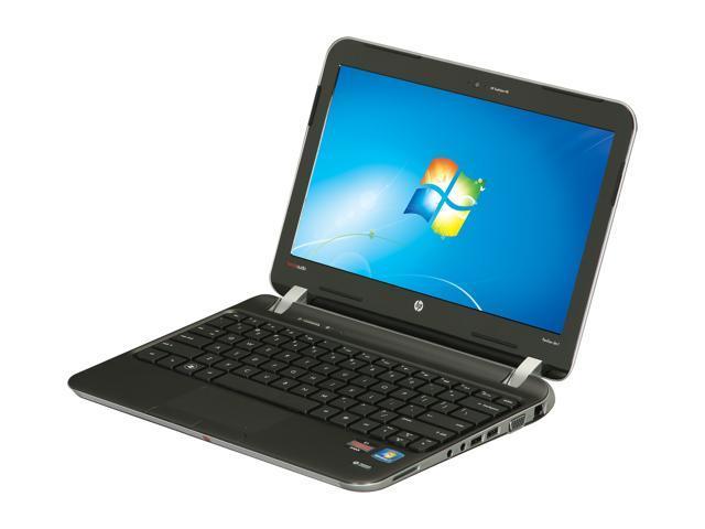 HP Laptop Pavilion dm1-4210us AMD Dual-Core Processor E1-1200 (1.4 GHz) 4 GB Memory 500 GB HDD AMD Radeon HD 7310 11.6