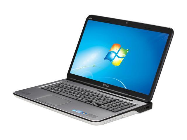 DELL Laptop XPS 17 (L702x) Intel Core i7 2nd Gen 2630QM (2.00 GHz) 6 GB Memory 640 GB HDD NVIDIA GeForce GT 550M 17.3