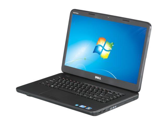 "DELL Laptop Inspiron 15 (N5040) Intel Core i3 380M (2.53 GHz) 4 GB Memory 500 GB HDD Intel HD Graphics 15.6"" Windows 7 Home ..."