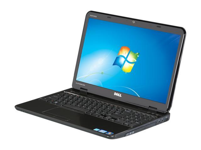 "DELL Laptop Inspiron 15R (i15RN-7296DBK) Intel Core i5 2410M (2.30 GHz) 4 GB Memory 640GB HDD Intel HD Graphics 3000 15.6"" ..."