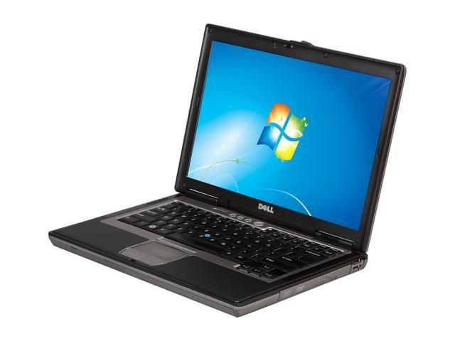 """DELL Notebook with Armor Shield Black Latitude D630 ASB Intel Core 2 Duo 2.00 GHz 2 GB Memory 80 GB HDD 14.1"""" Windows 7 Home ..."""