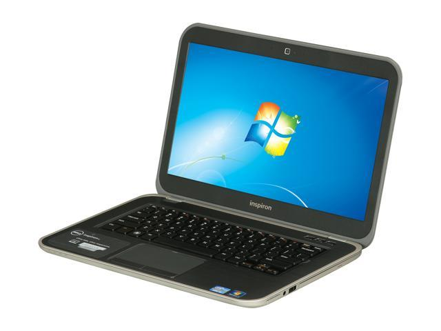 "DELL Inspiron 14z (i14z-6000sLV) Intel Core i5 8 GB Memory 500 GB HDD 32 GB SSD 14"" Ultrabook Windows 7 Home Premium 64-Bit"