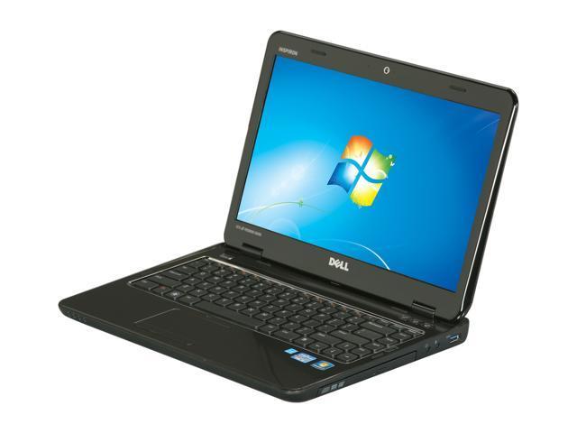 "DELL Inspiron 14R (N4110) 14.0"" Windows 7 Home Premium 64-Bit Laptop"