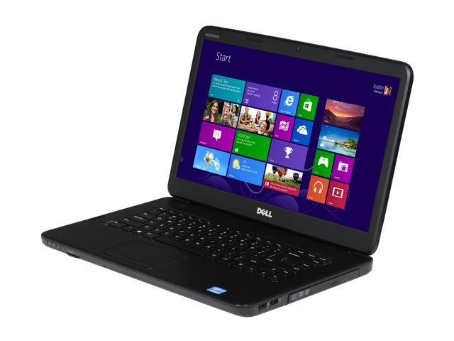 DELL Laptop Inspiron 15 (i15N-3636BK) Intel Core i3 2370M (2.40 GHz) 6 GB Memory 500 GB HDD Intel HD Graphics 3000 15.6