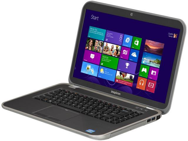 "DELL Inspiron 15R (i15R-1843sLV) 15.6"" Windows 8 Laptop"