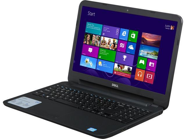 DELL Laptop Inspiron 15 (i15RV-10000BLK) Intel Core i5 3337U (1.80 GHz) 4 GB Memory 500 GB HDD Intel HD Graphics 4000 15.6