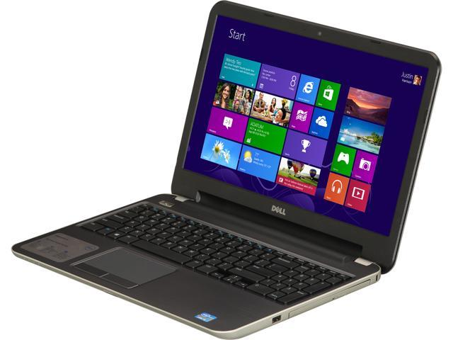 DELL Laptop Inspiron 15R (i15RM-3902SLV) Intel Core i5 3337U (1.80 GHz) 6 GB Memory 750 GB HDD Intel HD Graphics 4000 15.6