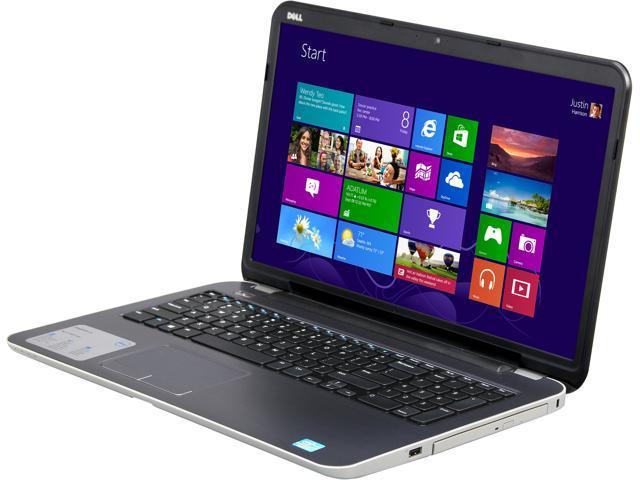DELL Laptop Inspiron 17R (i17RM-2258sLV) Intel Core i3 3227U (1.90 GHz) 6 GB Memory 500 GB HDD Intel HD Graphics 4000 17.3