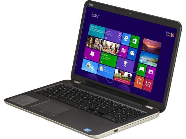 "DELL Laptop Inspiron 17R (i17RM-2419sLV) Intel Core i5 3337U (1.80 GHz) 6 GB Memory 750 GB HDD Intel HD Graphics 4000 17.3"" ..."