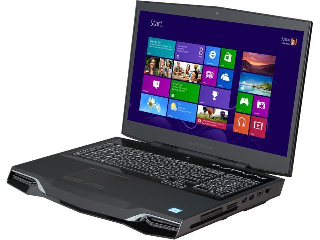 "DELL Alienware M18x R2 (AM18XR2-7037BK) Gaming Laptop Intel Core i7-3630QM 2.4GHz 18.4"" Windows 8"