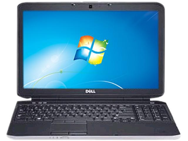 DELL Laptop Latitude E5530 Intel Core i3 3110M (2.40 GHz) 2 GB Memory 320 GB HDD Intel HD Graphics 4000 15.6
