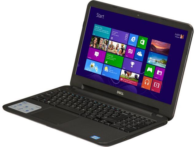DELL Laptop Inspiron i15RV-6145BLK Intel Core i3 3227U (1.90 GHz) 6 GB Memory 500 GB HDD Intel HD Graphics 4000 15.6