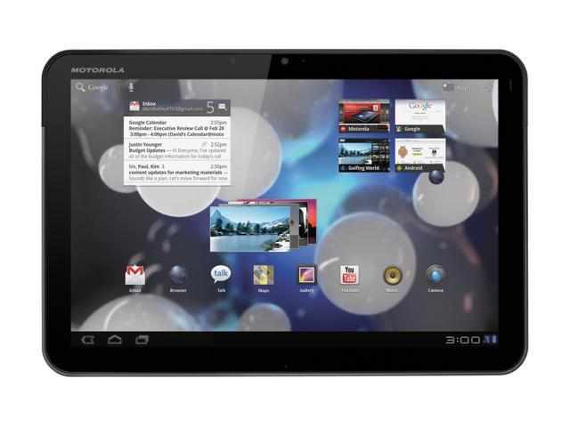 MOTOROLA XOOM with Wi-Fi NVIDIA Tegra 2 1GB DDR2 Memory 32GB Flash 10.1