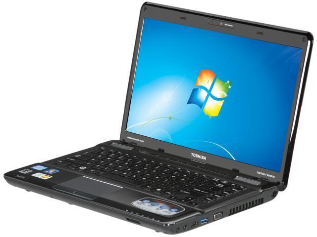 "TOSHIBA Laptop Satellite M645-S4116X Intel Core i5 2410M (2.30 GHz) 6 GB Memory 500 GB HDD Intel HD Graphics 3000 14.0"" Windows ..."
