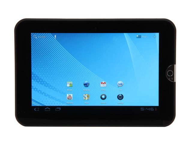 "TOSHIBA Thrive AT1S5-T16 16 GB 7.0"" Tablet PC - Easy Grip Back Cover in Black Tie"